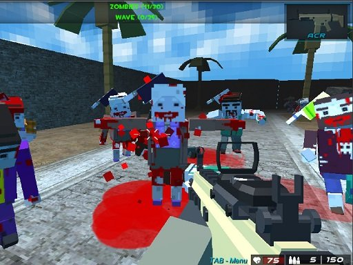 Play Pixel Combat The SandStorm Online